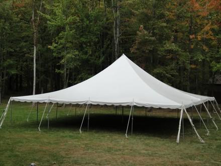 40 X 40 Standard Pole Tent Paul Redeker