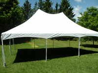 20' x 30' high peak frame tent
